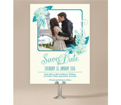 With Joyful Hearts Save the Date