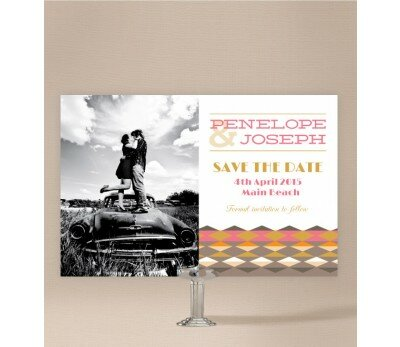 Aztec Save The Date Cards