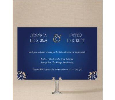 Classique Engagement Invitations