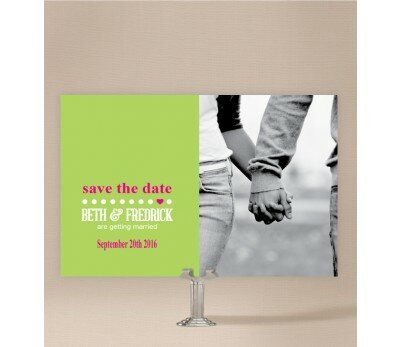 Little Heart Save The Date Cards