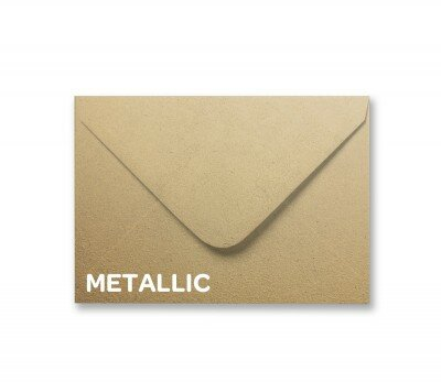 Metallic Soft Gold A7 Envelope