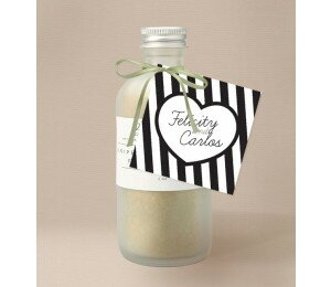 Bold Stripes Wedding Gift Tag