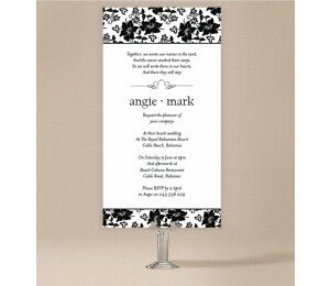 Interlaced Wedding Invitations