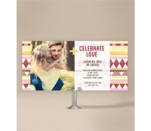 Kilim Engagement Invitations