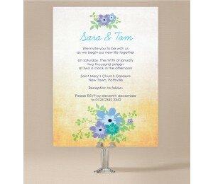 Posies Wedding Invitations