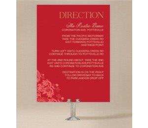 Rustic Lace Extra Information Card