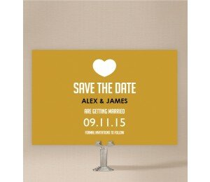 Typo Save The Date Cards