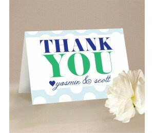 Big & Bold Thank You Card