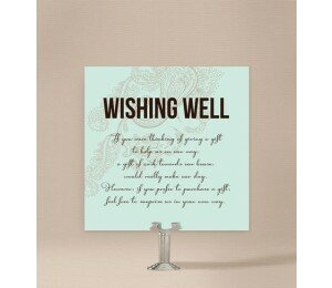 Paisley Wishing Well Card