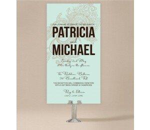 Paisley Wedding Invitations