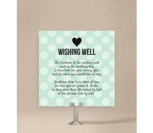 Polaroid Wishing Well Card