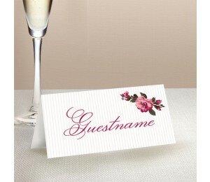 Prairie Wedding Place Card