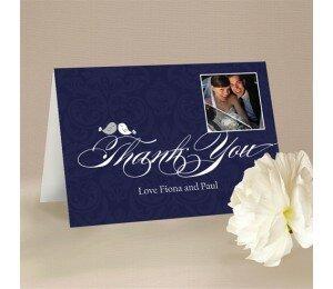 Shabby Vintage Thank You Card