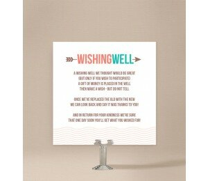 Two Circles Wishing Well Card