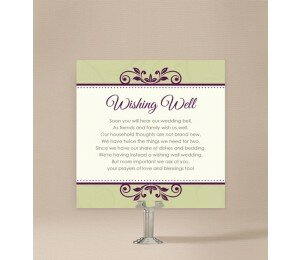 Winery Wishing Well Card