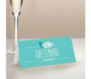 With Joyful Hearts Wedding Place Card