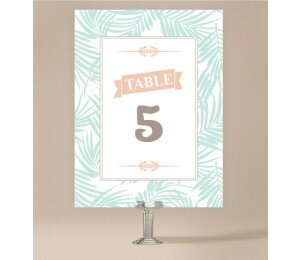 Bali Palms Table Numbers