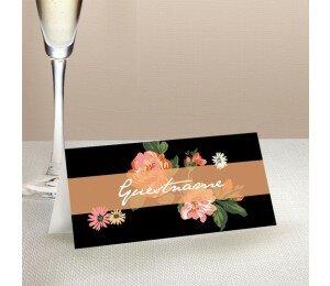 Bouquet Wedding Place Card