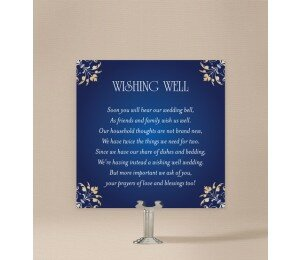 Classique Wishing Well Card