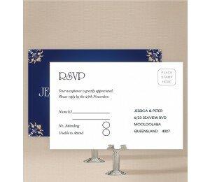 Classique Wedding Response Card