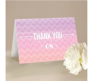 Colourful Mood Thank You Card
