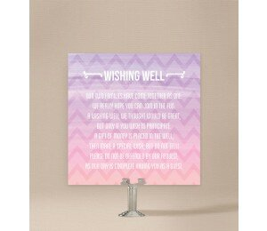 Colourful Mood Wishing Well Card