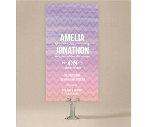 Colourful Mood Wedding Invitations