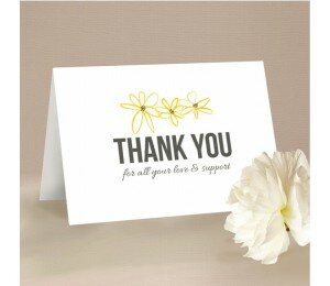 Daisy Chain Thank You Card