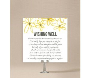 Daisy Chain Wishing Well Card