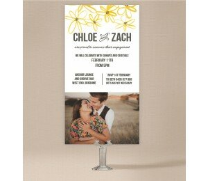Daisy Chain Engagement Invitations