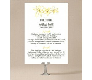 Daisy Chain Extra Information Card
