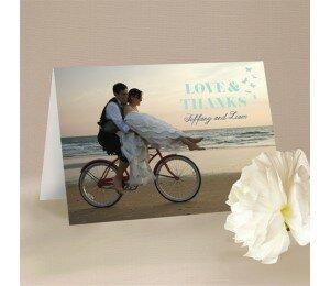 Decorative Heart Thank You Card