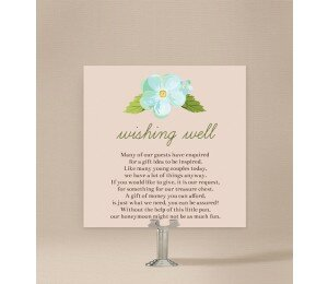 Delicate Daisy Wishing Well Card