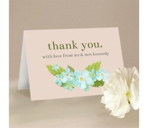 Delicate Daisy Thank You Card