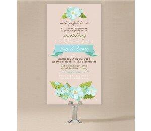 Delicate Daisy Wedding Invitations