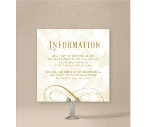 Elegant Information Card