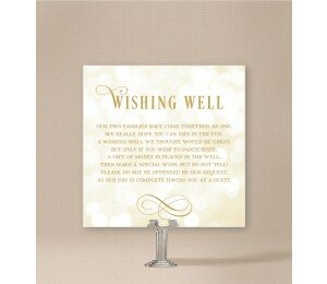 Elegant Wishing Well Card