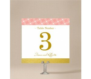 Golden Lattice Table Numbers