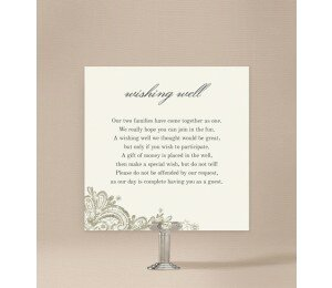 Graceful Wishing Well Card