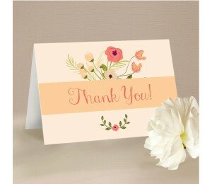 In Full Bloom Thank You Card