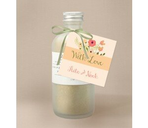 In Full Bloom Wedding Gift Tag