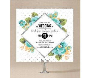 Floral Fetish Wedding Invitations
