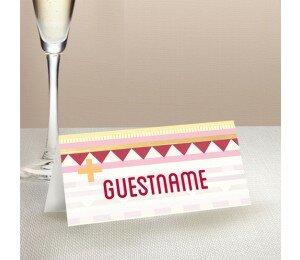 Kilim Wedding Place Card