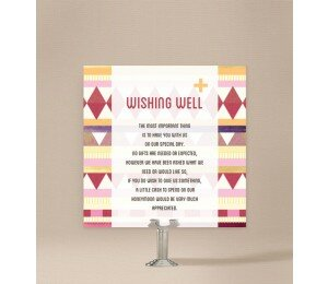Kilim Wishing Well Card