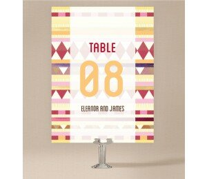 Kilim Table Numbers