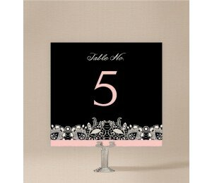 Lacey Lace Table Numbers