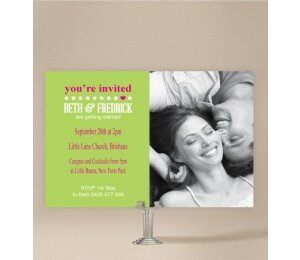 Little Heart Wedding Invitations