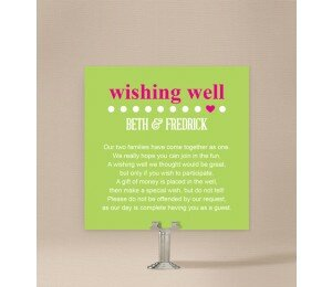 Little Heart Wishing Well Card