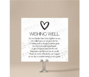 Louder Than Love Wishing Well Card