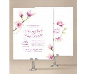 Magnolia Wedding Invitations